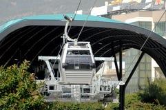 O teleférico perto da estação da partida Alanya Turquia Foto de Stock Royalty Free