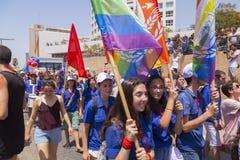 20o telefone Aviv Pride, Israel Imagem de Stock Royalty Free
