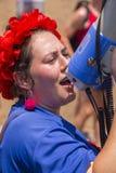 20o telefone Aviv Pride, Israel Foto de Stock Royalty Free