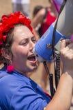20o telefone Aviv Pride, Israel Fotografia de Stock Royalty Free