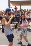 20o telefone Aviv Pride, Israel Imagens de Stock