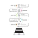 O telefone conversa o ciclo Imagens de Stock Royalty Free