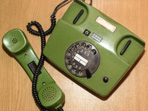 O telefone velho Fotografia de Stock
