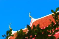 O telhado Foto de Stock