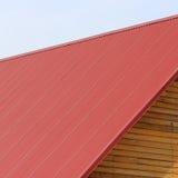 O telhado da casa Fotografia de Stock Royalty Free
