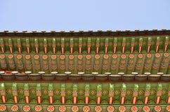 O telhado da ponte dobro Imagem de Stock