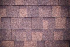 O telhado do marrom shingles o fundo e a textura vignette imagens de stock royalty free