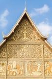 O telhado do templo Imagens de Stock Royalty Free