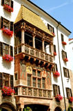 O telhado dourado - Innsbruck - Áustria Fotografia de Stock