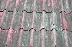 O telhado velho Fotografia de Stock