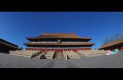 O templo ancestral do santuário Imagens de Stock