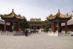 O templo antigo Fotografia de Stock