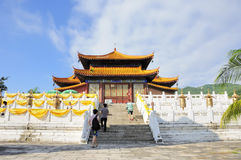 O templo budista Fotos de Stock