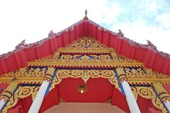 O templo budista Imagem de Stock Royalty Free