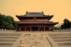 O templo confucionista Imagem de Stock