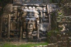 O templo da máscara imagens de stock