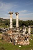O Templo de Ártemis, Sardes Manisa - Turquia Foto de Stock