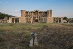 O templo de Artemis At Sardis fotos de stock royalty free