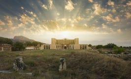 O templo de Artemis At Sardis fotografia de stock