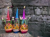 O templo de Banteay Chhmar em Cambodia imagem de stock
