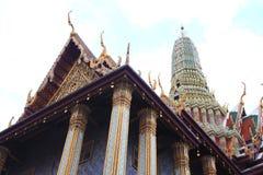 O templo de Buddha da esmeralda Fotografia de Stock