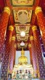 O templo de buddha em Ayutthaya Tailândia fotos de stock royalty free