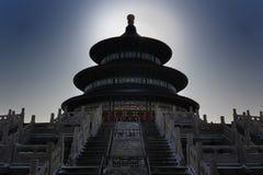 O templo de céu é ficado situado em Beijin do sul Fotografia de Stock