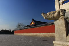 O templo de céu Foto de Stock Royalty Free