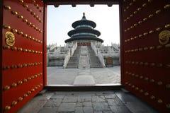 O templo de céu imagem de stock