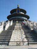 O templo de céu em Beijing Fotos de Stock Royalty Free