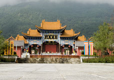 O templo de Chongsheng Fotografia de Stock Royalty Free