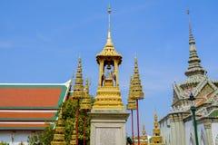 O templo de Emerald Buddha ou do WAT PHRA KAEW de Tailândia Fotografia de Stock Royalty Free