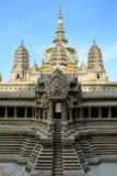 O templo de Emerald Buddha ou do WAT PHRA KAEW de Tailândia Foto de Stock Royalty Free