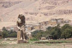 O templo de Hatshepsut perto de Luxor em Egyp fotografia de stock royalty free