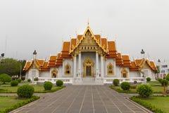 O templo de mármore Imagens de Stock