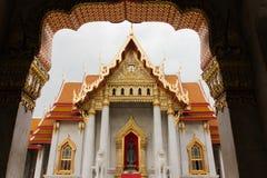 O templo de mármore Foto de Stock Royalty Free