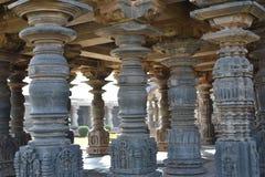 O templo de Mahadeva, Chalukya ocidental, Itagi, Koppal, Karnataka Imagens de Stock