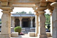 O templo de Mahadeva, Chalukya ocidental, Itagi, Koppal, Karnataka Imagem de Stock