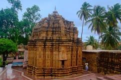O templo de Mahalingeshwara perto de Gokak cai, Gokak, Belagavi, Karnataka Fotos de Stock
