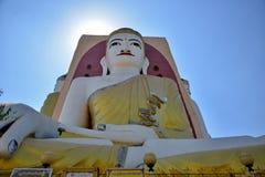 O templo de quatro monges das caras em Myanmar Imagens de Stock Royalty Free
