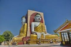 O templo de quatro monges das caras em Myanmar Imagem de Stock