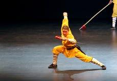 O templo de Shaolin de China executa em Barém, 2012 Fotografia de Stock