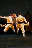 O templo de Shaolin de China executa em Barém, 2012 Fotografia de Stock Royalty Free