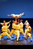 O templo de Shaolin de China executa em Barém, 2012 Foto de Stock