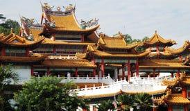 O templo de Thean Hou fotos de stock royalty free