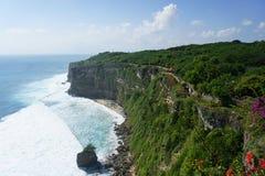 O templo de Uluwatu, Bali Imagens de Stock Royalty Free