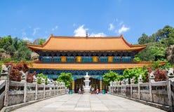 O templo de Yuantong é o templo budista o mais famoso província em Kunming, Yunnan, China Foto de Stock Royalty Free
