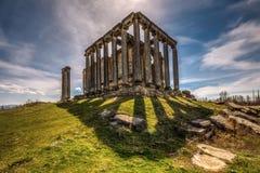 O templo de Zeus, Aizanoi Foto de Stock