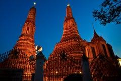O templo do alvorecer. Fotos de Stock