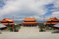 O templo do chongsheng imagem de stock